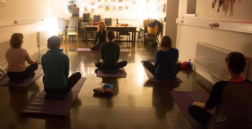 Yoga at the Joe Keane Creative Centre